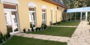 projekt pawilonu dla hospicjum, projekty szpitali, projekt architektoniczny